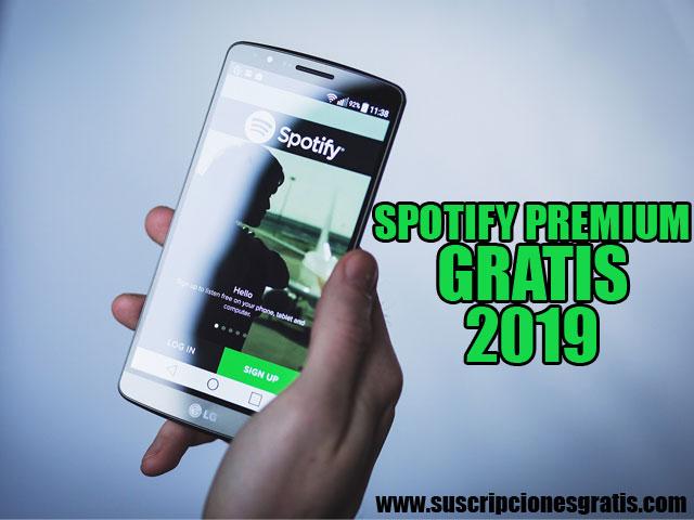 cuenta spotify premium gratis 2019